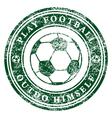 Play Football vector image