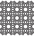 Chain mail of the links in form of crosswise vector image