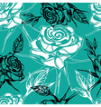 leafs seamless 2 2 vector image vector image