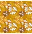 Seamless spring pattern with flowers vector image