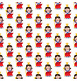 queen seamless pattern vector image