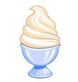 Sweet ice cream vector image