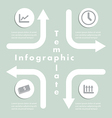 Arrow and Sign Infographics Design Template vector image