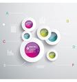 Infographic Elements IT Industry Design vector image