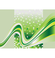 Stripes green tint vector image
