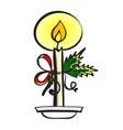 CandleVec vector image