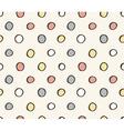 seamless cute retro pattern vector image
