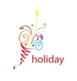 logo holiday vector image