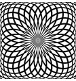 rotation pattern vector image vector image