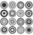 oriental elements vector image