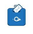 Retro Mail Box vector image