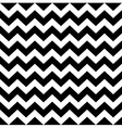 Zig zag simple pattern - black and white vector image