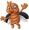 Cartoon stag beetle vector image