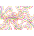 Colorful Wave Background vector image