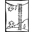 Ladder Up vector image vector image