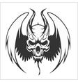 Fierce Gargoyle-Fantasy Winged Beast vector image