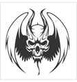 Fierce Gargoyle-Fantasy Winged Beast vector image