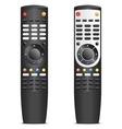 Black remote control vector image