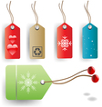 tags set vector image vector image