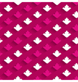 Bright paper pattern with flowers vector image
