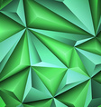 Abstract green background 1 vector image vector image