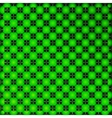 Bright green geometrical background vector image