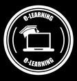e-learning design vector image