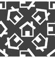 house web icon flat design Seamless pattern vector image