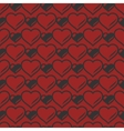 Heart shaped seamless pattern vector image