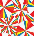 summer circles pop-art seamless pattern vector image