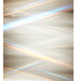 Silver elegant template for your business vector image