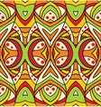 Abstract art nouveau background vector image