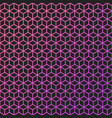 abstract background of color lineart cubes vector image vector image