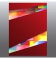 Business background flyer Design Concept vector image