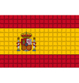 The mosaic flag of Spain vector image