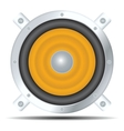 speaker icon vector image vector image