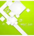 Colourful tech background vector image vector image