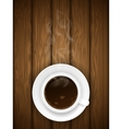 Coffe cup vector image