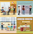 colorful business concept vector image
