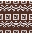 Ethnic inspired pattern vector image