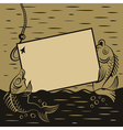 Fish presents vector image