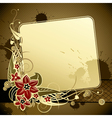 Gold classic background vector image