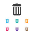 of network symbol on trash vector image