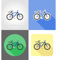 transport flat icons 56 vector image