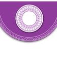 Elegant Label Background vector image
