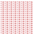 hearts love pattern icon vector image
