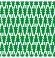 Simple seamless pattern background with Christmas vector image