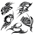 Tattoo pattern vector image vector image