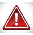 forbidden sign icon image vector image