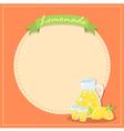 Fresh Lemonade Banner Poster vector image